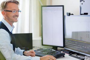 Patrick Schneider am Arbeitsplatz - der Personalentwickler®, Im Altefeld 36, 59227 Ahlen